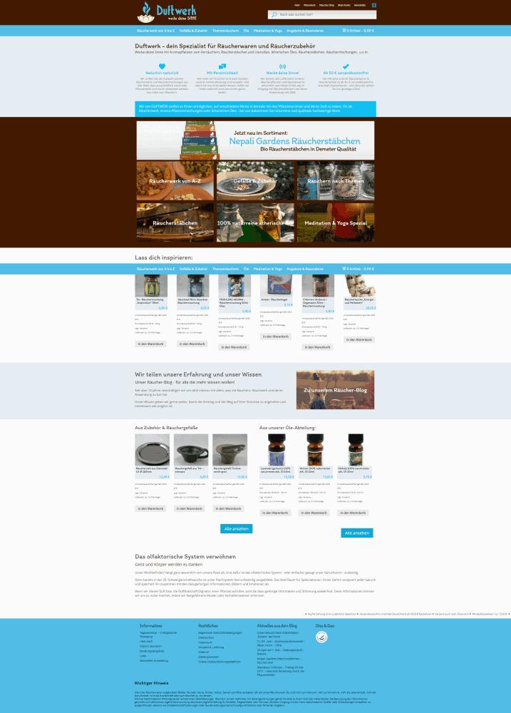 Webdesign DuftWerk