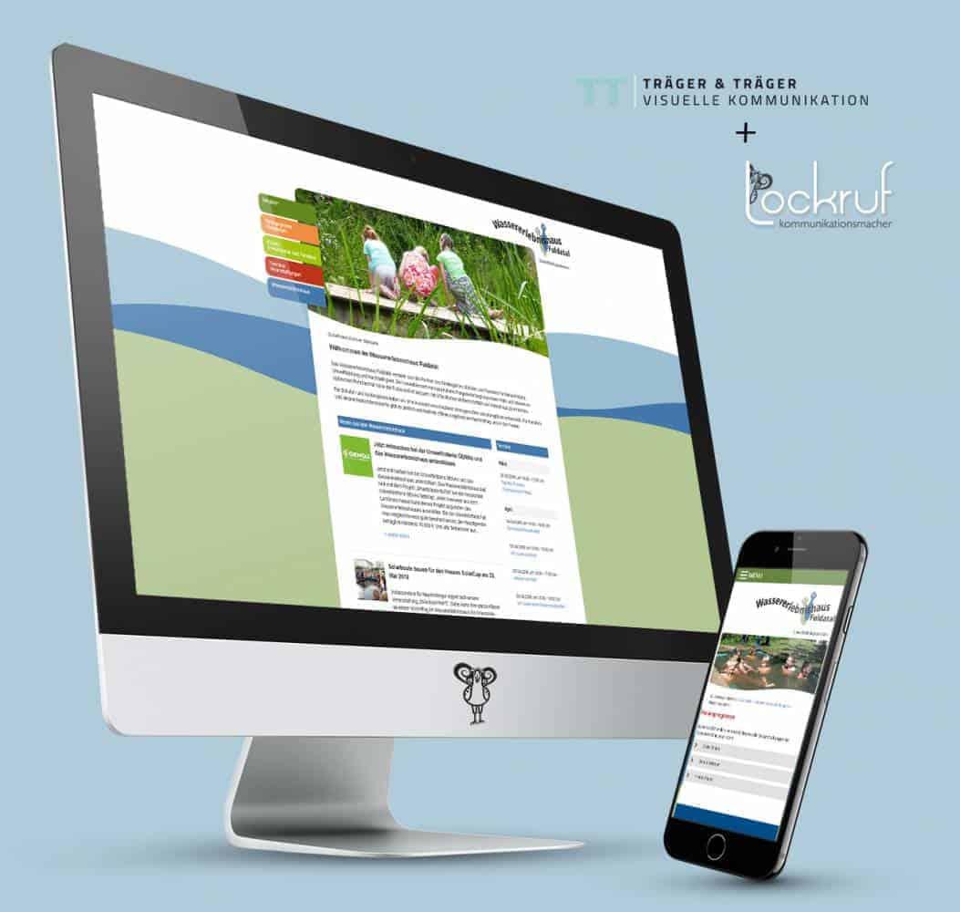 Webdesign Wassererlebnishaus Kassel
