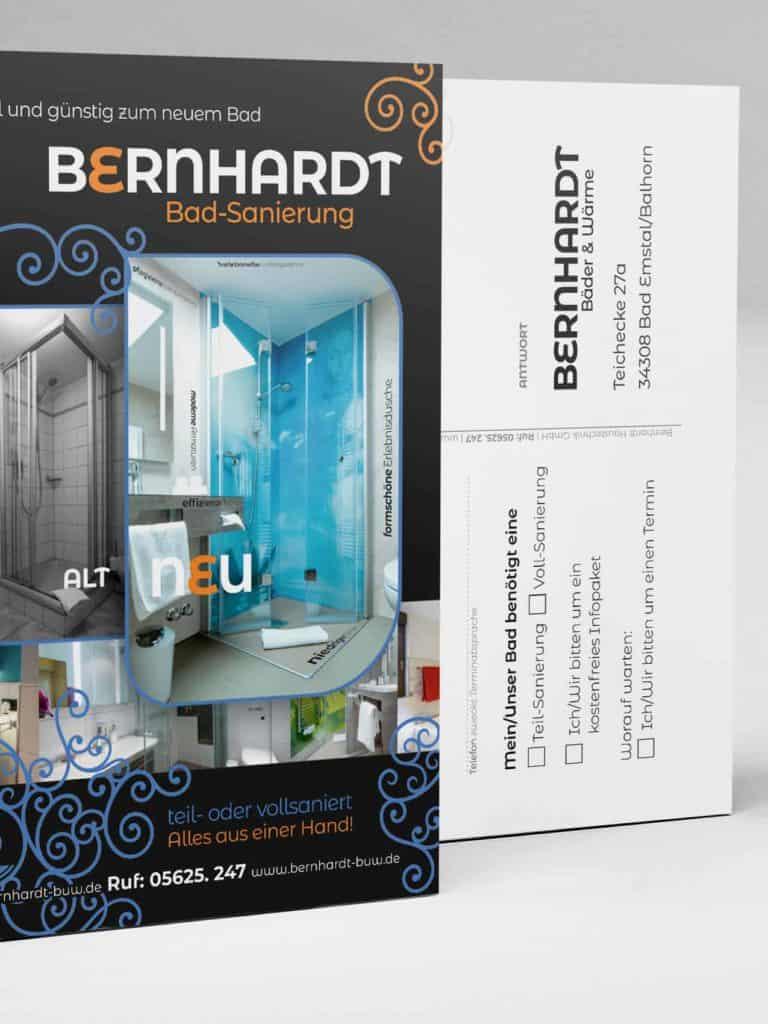 Bernhard Antwortkarte