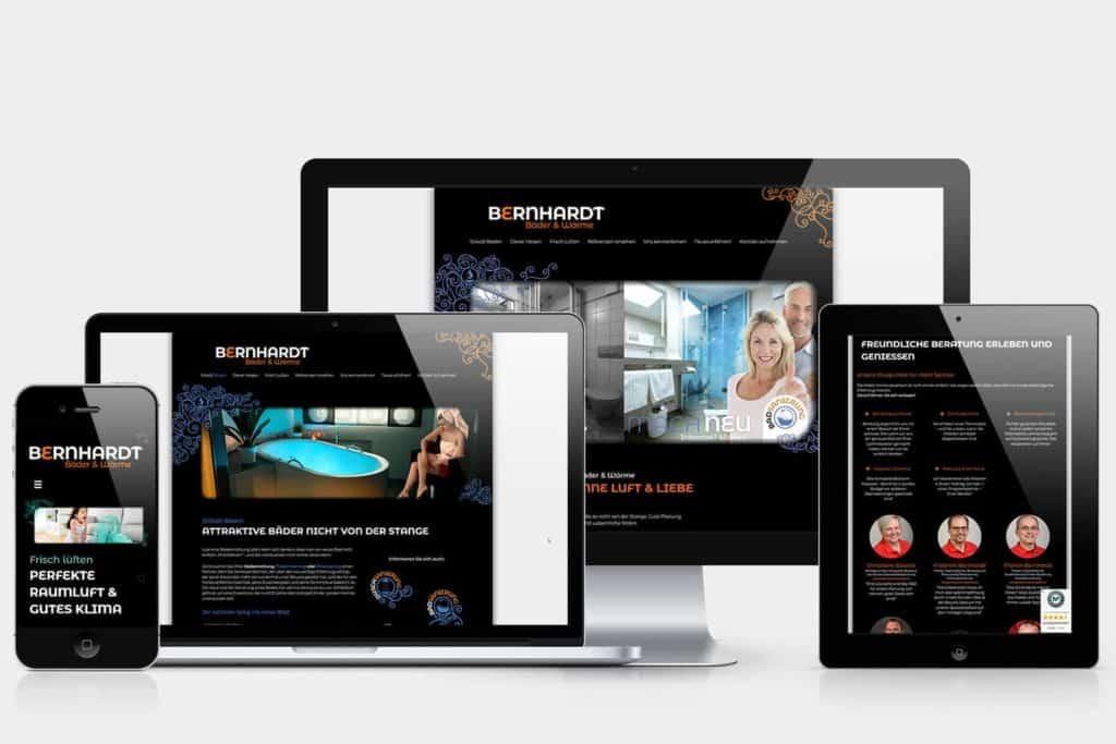 Bernhardt Webseite