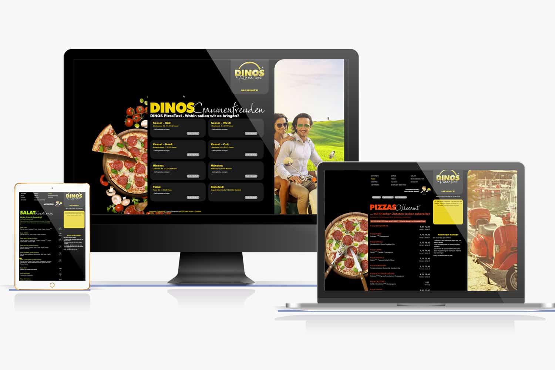Mein Dinos Webseite
