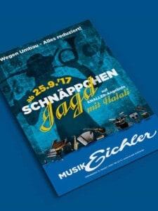 Musik Eichler Halali Poster