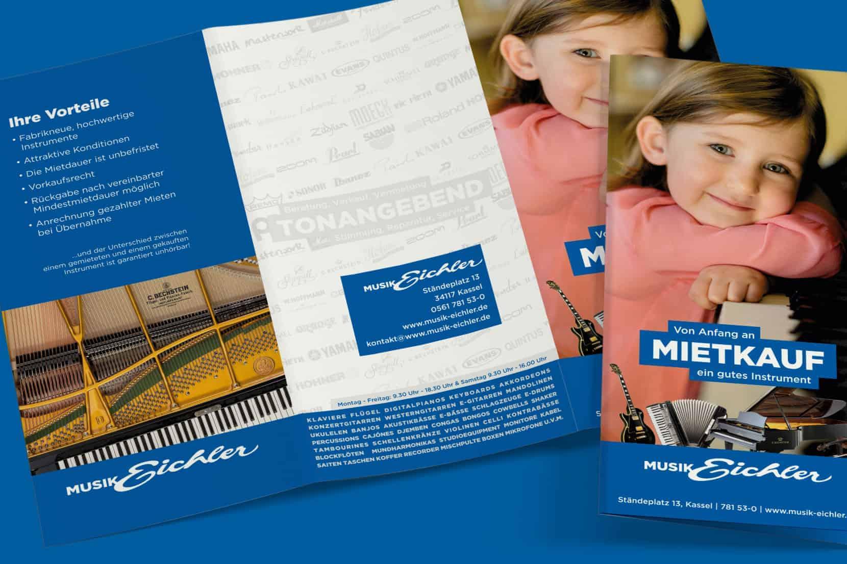 Musik Eichler Mietkauf Flyer