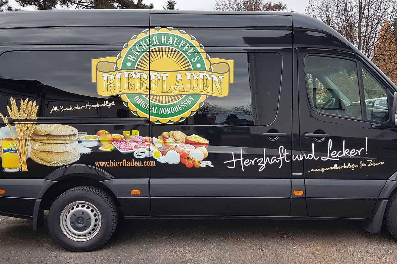 Fahrzeugdesign Bäckerei Hauffe