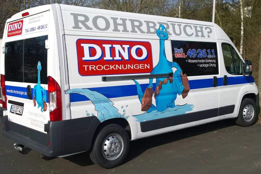 Fahrzeugdesign DINO Trocknungen