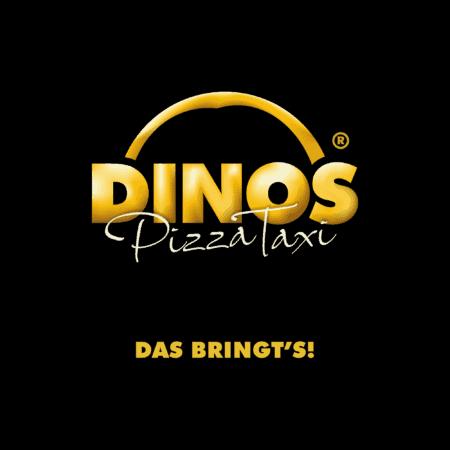 Logodesign Dinos PizzaTaxi