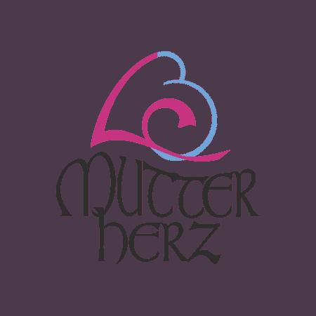Logodesign Mutterherz Hebammenpraxis