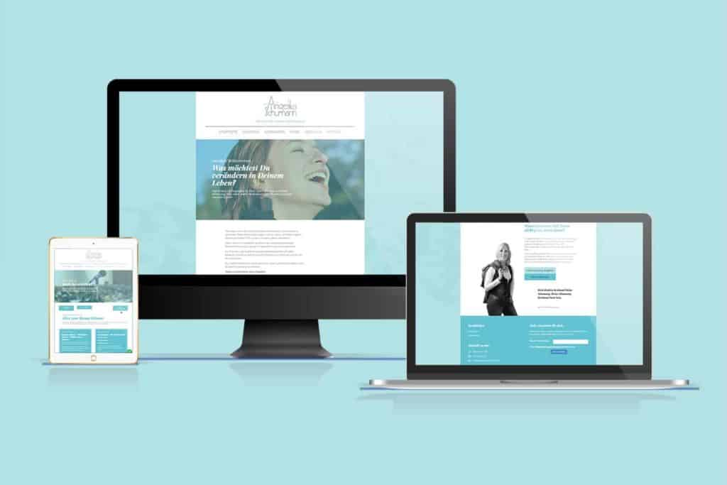 Webentwicklung und Webdesign Angelika Schuhmann