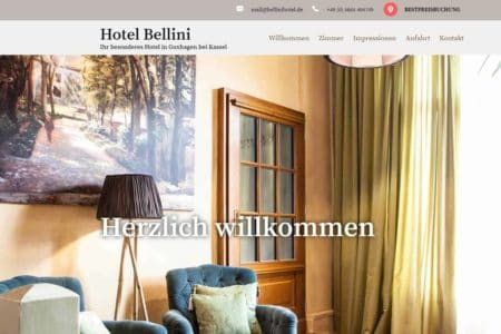 Lockruf Referenz - Hotel Bellini
