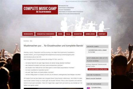 Lockruf Referenz - Complete Music Camp