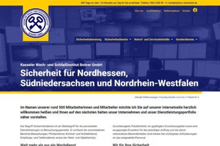 Lockruf Referenz - Kasseler Wach- und Schliessinstitut Bohrer
