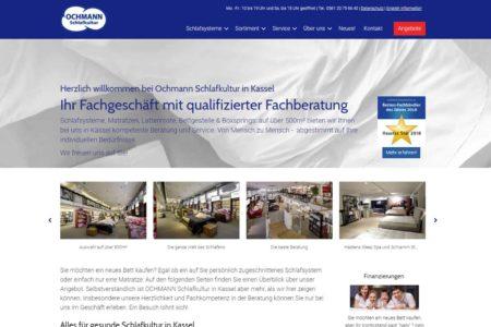 Gemacht: Webdesign Ochmann Schlafkultur
