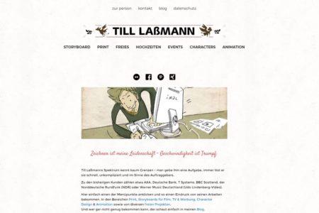 Gemacht: Webdesign Till Laßmann