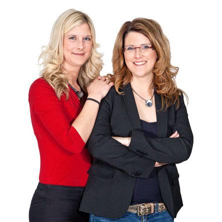 Geilert und Kanstein - Swenja Geilert und Nicole Bäumner